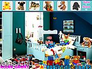 Флеш игра онлайн Найти предметы - Детские плюшевые игрушки / Kids Plush Toy Hidden Objects