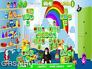Флеш игра онлайн Подбери пару  - Детская комната / Kids Room Mahjong