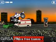 Флеш игра онлайн Убийца-грузовик 2 / Killer Trucks 2