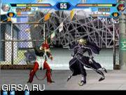 Флеш игра онлайн King Of Fighters Wing 1.8