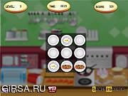 Флеш игра онлайн Кухня / Kitchen Memory