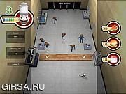 Флеш игра онлайн Kitchen War