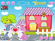 Флеш игра онлайн Котята-целоваки / Kitten Love Kiss
