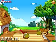 Флеш игра онлайн Мороженое из киви / Kiwifruit Brittle Parfait