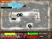 Флеш игра онлайн Гонщик на картинге