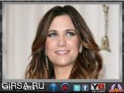 Флеш игра онлайн Кристен Уиг. Пазл / Kristen Wiig Image Disorder