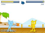 Флеш игра онлайн Kucing Fighter