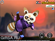 Флеш игра онлайн Kung Fu Panda Shifu Dress Up