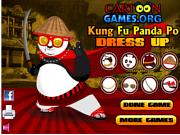 Игра Kung Fu Po Dress Up
