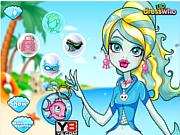 Флеш игра онлайн Морская лагуна / Lagoona Blue Sporty Makeover
