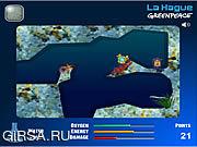 Флеш игра онлайн La Hague Greenpeace