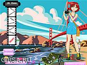 Флеш игра онлайн Наряд для Лайки / Laika Dressup