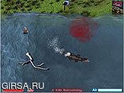Флеш игра онлайн Озеро спокойные 2: Переулок Croc / Lake Placid 2: Croc Alley