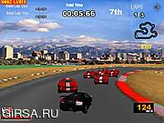 Флеш игра онлайн Lamborghini Racer