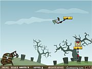 Флеш игра онлайн lanza-zombie