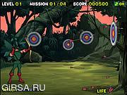 Флеш игра онлайн Green Arrow - Last Man Standing