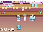 Флеш игра онлайн Веселая уборка / Laundry Fun
