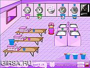 Флеш игра онлайн Спешка прачечного / Laundry Rush