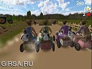 Флеш игра онлайн Lawn Mower Madness