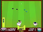 Флеш игра онлайн Газон Боулинг / Lawn Bowling