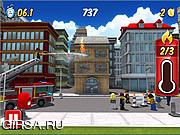 Флеш игра онлайн Город Лего - Мой Город