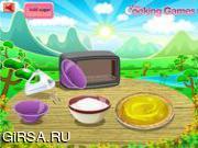 Флеш игра онлайн Лимонный пирог безе / Lemon Meringue Pie Cooking