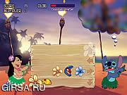 Флеш игра онлайн Лило и усилителя; Стич - хула суеты