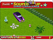 Флеш игра онлайн Souped Up - Limo Challenge