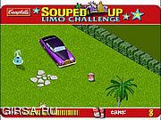 Флеш игра онлайн Новоиспеченным - Лимузин Вызов / Souped Up - Limo Challenge