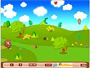 Флеш игра онлайн Львиный обед / Lion Meat Catching Game