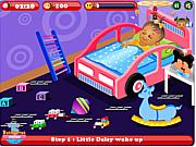 Флеш игра онлайн Маленькая Дейзи на Рождество