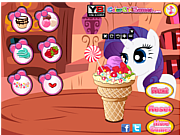 Флеш игра онлайн Little Pony Ice Cream