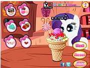 Флеш игра онлайн Мороженое для маленького пони