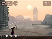 Флеш игра онлайн Little John's Archery 2