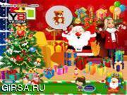 Флеш игра онлайн Лиза / liza's christmas presents