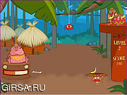 Флеш игра онлайн Фруктовые джунгли / Locochew