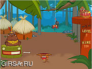 Флеш игра онлайн Джунгли с фруктами / Lokochew