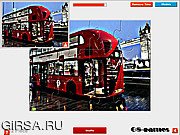 Игра London Bus Puzzle