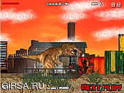 Флеш игра онлайн Динозавр Рекс в Лондоне