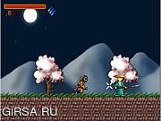 Флеш игра онлайн УединЈнное Ninja / The Lone Ninja