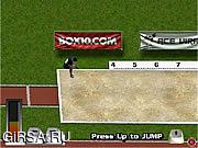 Флеш игра онлайн Большой скачок / Long Jump