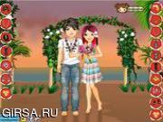 Флеш игра онлайн Свадьба на Гаваях