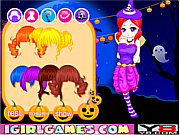 Флеш игра онлайн Наряд для Энни на Хэллуин / Lovely Halloween Girl