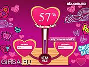 Флеш игра онлайн Love Test
