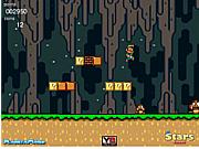 Флеш игра онлайн Луиджи в пещере 3 / Luigi Cave World 3