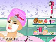 Флеш игра онлайн Модный макияж