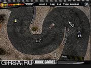 Флеш игра онлайн Злой гонщик / Mad Racers
