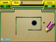 Флеш игра онлайн Магический карандаш / Magic Line Drawing