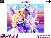 Игра Magic of Pegasus Barbie Jigsaw