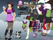 Флеш игра онлайн Волшебный костюм на Хэллуин